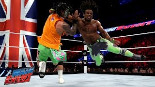 Jimmy Uso vs. Xavier Woods: WWE Main Event, April 18, 2015