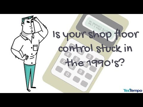 TexTempo - Byte Competitive Shop Floor Control Offer - YouTube - shopfloor control