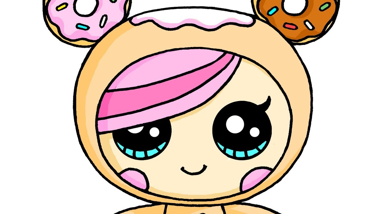 tokidoki donutella coloring pages  youtube