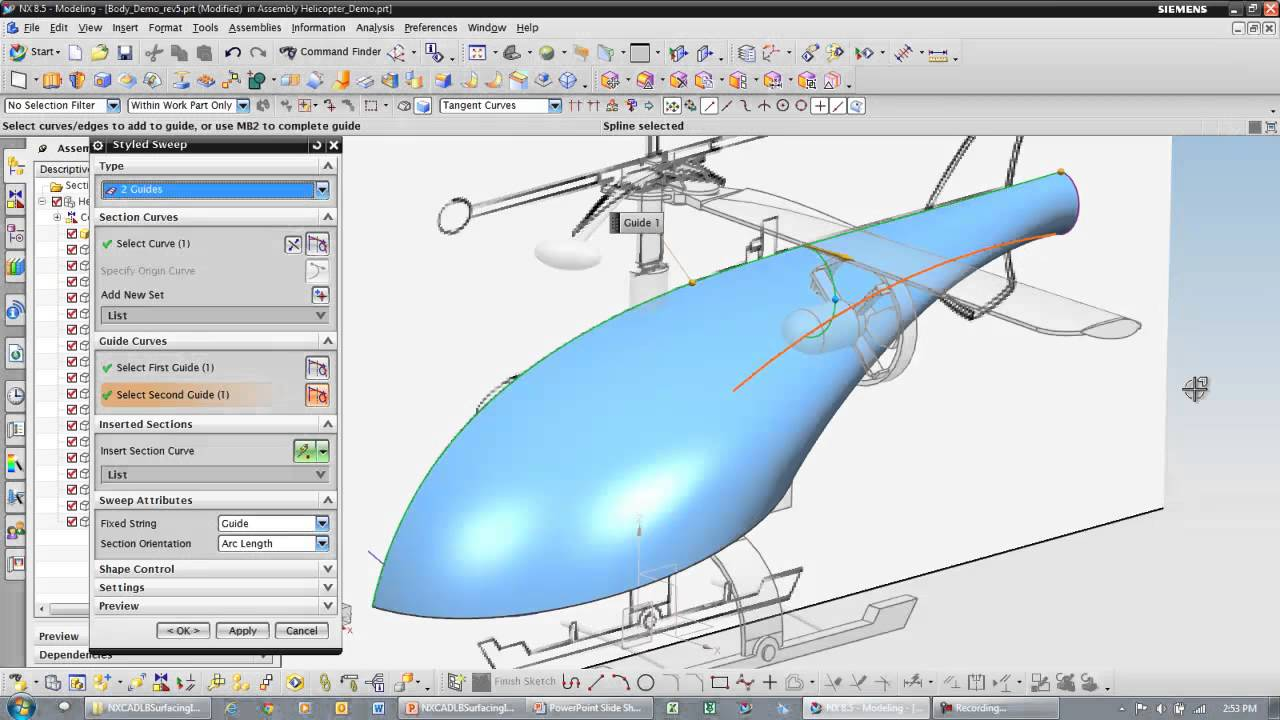 NX CAD - Surfacing - PROLIM PLM Lunch Bytes
