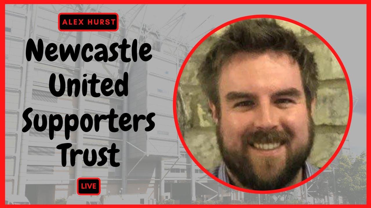 Black & White Show   Alex Hurst of the Newcastle United Supporters Trust