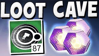 Destiny 2 - UNLIMITED FACTION TOKEN LOOT CAVE !!