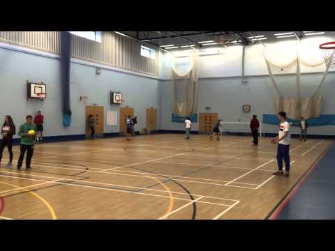 Luke O'Connor dribble and shoot (handball)