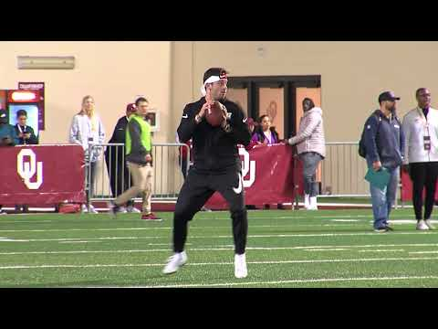 OU Pro Day 2018: Baker Mayfield