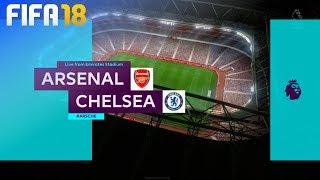 FIFA 18 - Arsenal vs. Chelsea @ Emirates Stadium