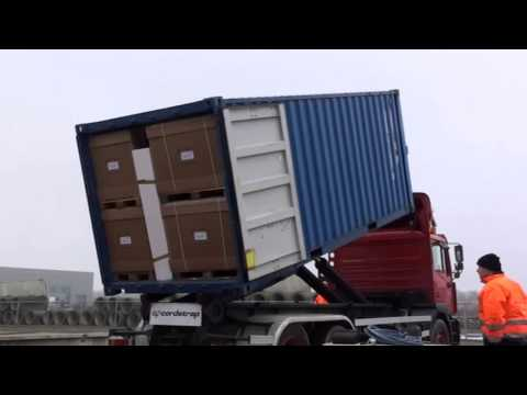 Cargo Stowage Capabilities of Polystyrene Blocks - video by Cordstrap