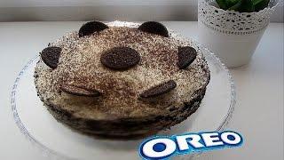 Торт Орео без выпечки. Быстро и вкусно!