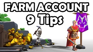 9 Tips Official Farm Account Tips / Guides   Rise of Kingdoms