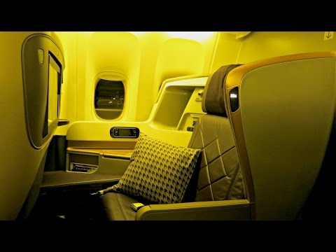 Singapore Airlines New Business Class Experience: SQ285 Singapore to Auckland