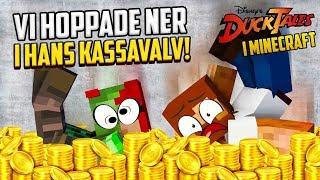 Vi HOPPADE i Joakim Von Ankas KASSAVALV i Minecraft!