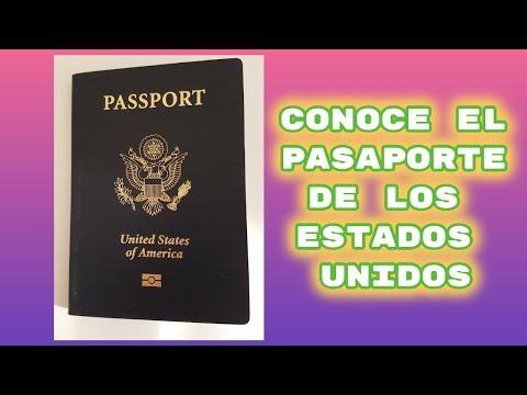 Pasaporte USA conocelo (estados unidos)