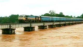 Tunga River Shimoga : ತುಂಗಾ ನದಿಯ ಪ್ರವಾಹ ಹೇಗಿದೆ ಗೊತ್ತಾ..!?