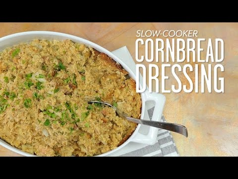 Slow-Cooker Cornbread Dressing: Thanksgiving Made Easy | Southern Living