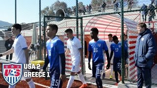 U-17 MNT vs. Greece: Highlights - Jan. 19, 2016