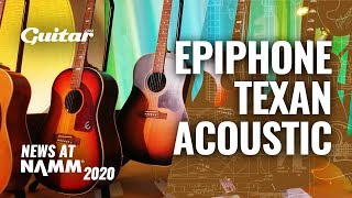 The Epiphone Texan gets an affordable, Masterbilt version #NAMM2020
