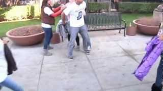 A Fight Breaks Out Between Two Families Outside San Jose Courthouse 1-18-13 (Uncensored)
