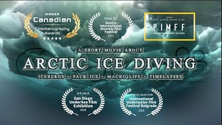 Greenland ICE II - Arctic Ice Diving in 4K
