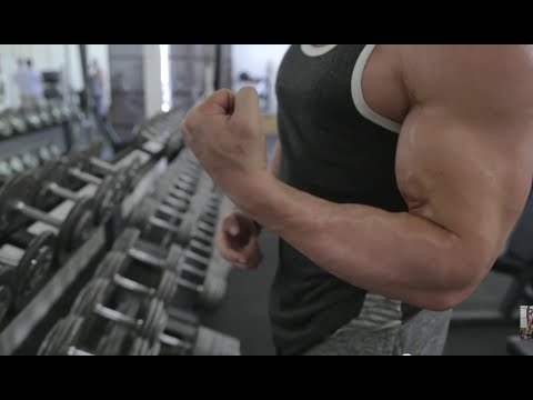 Bradley Martyn | Big Ass Arms | Concentration Curl Form