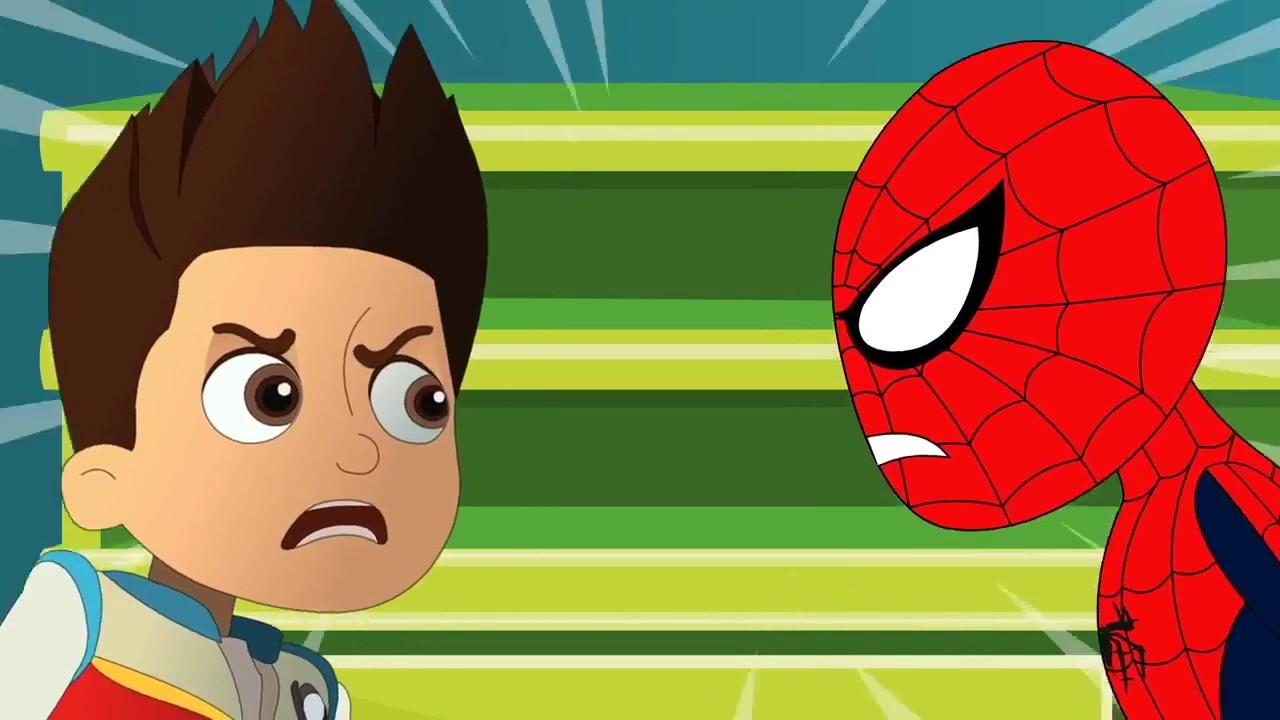 Dibujos de Spiderman para Niños Pequeños