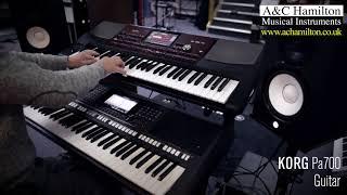 Korg Pa700 vs. Yamaha PSR-S770 — Sounds Comparison