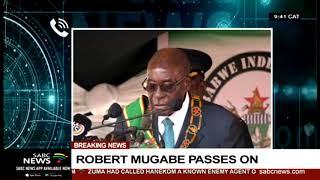 Robert Mugabe I ZANU-PF SA's spokesperson Kennedy Mandaza