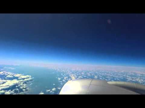 Airplane Timelapse: HKG to DFW (160328) AA138