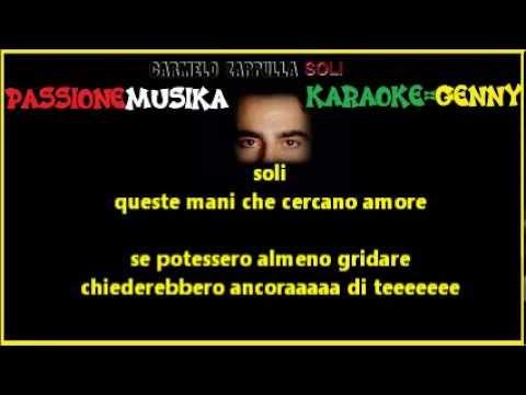 CARMELO ZAPPULLA Soli karaoke
