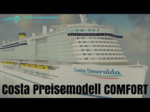 """""""Comfort""""-Preismodell Von Costa Kreuzfahrten (NEU)"""