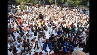 "#JAATARAKSHAN : Hundreds of supporters | ""We want proper Jaat Reservation"" says Yashpal Malik"