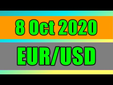 EUR/USD Daily Forecast Analysis on 8 October 2020 by Trading Gold Today Review
