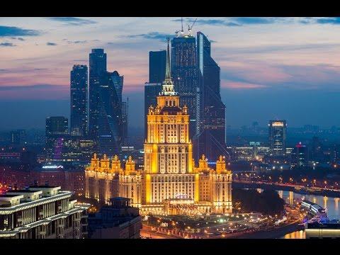 Киевский вокзал  ТРК Европейский  Москва Сити