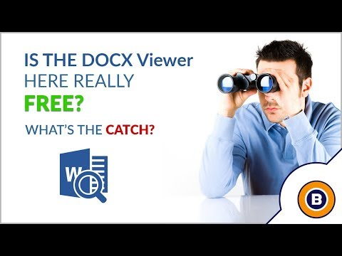 How to Open and View DOCX File Without Microsoft Word ?