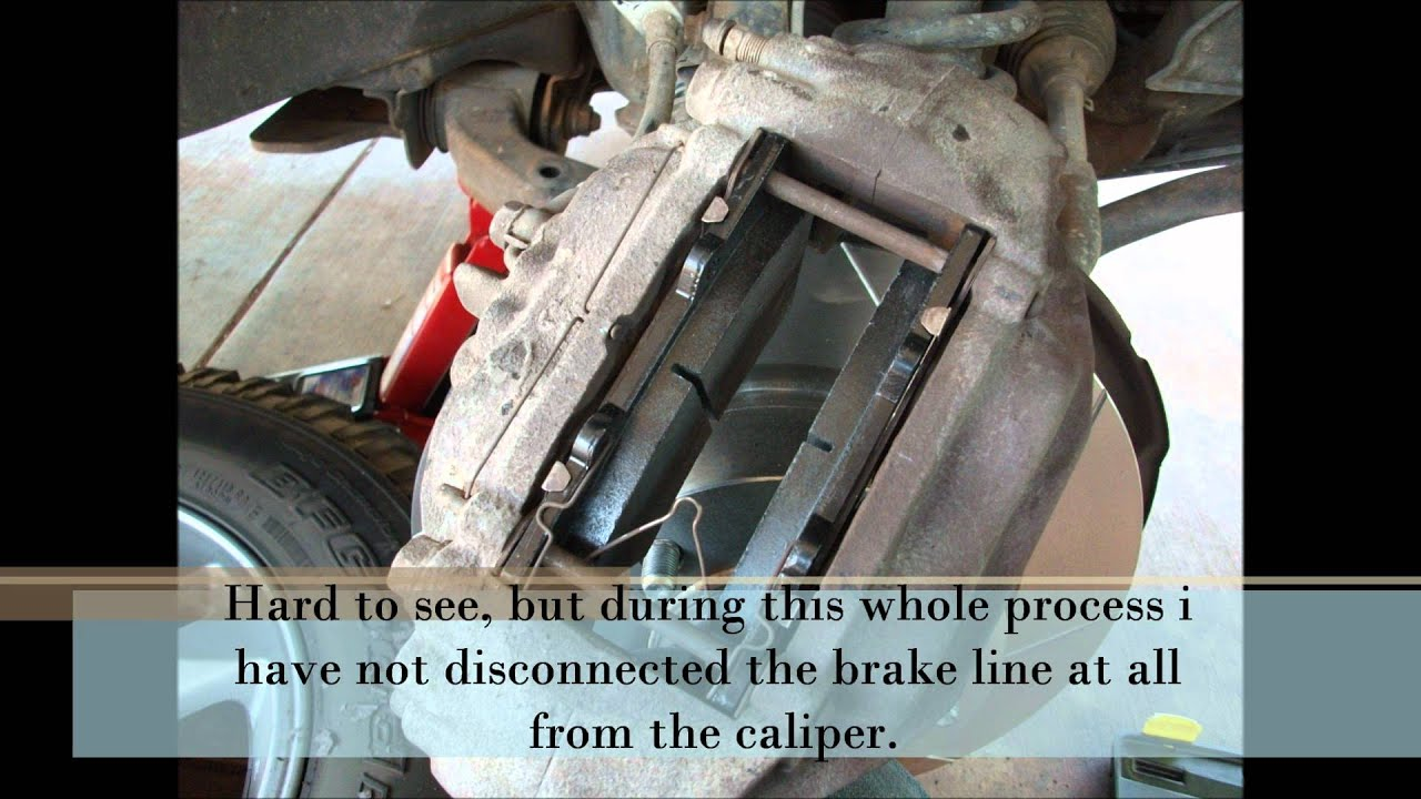 Toyota Landcruiser 200 Series Front disk and pad replacement guide