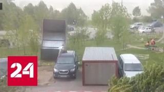 В Москве ураганый ветер убил от 2 до 6 человек