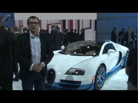 Bugatti Veyron Grand Vitesse - Paris Motor Show 2012 - XCAR