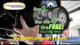 Buy 3, Get the 4th Tire Free!