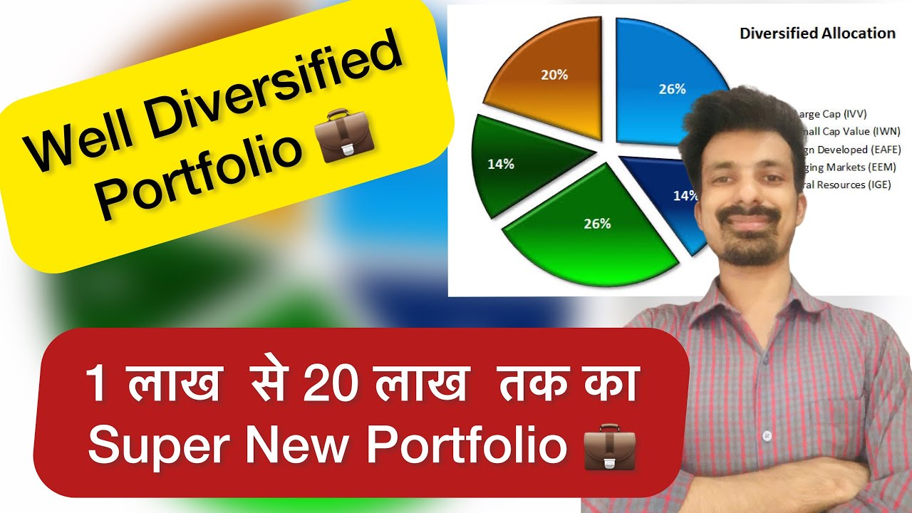 Download 20 Stocks Well Diversified Portfolio | 1 lakh से 20 lakh तक का New Portfolio | Ankit Gupta