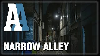 Narrow Alley - 1hr Ambient Sound & Visuals (4K)