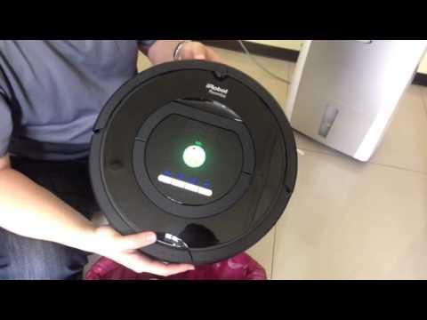 irobot 770 如何清理集塵盒