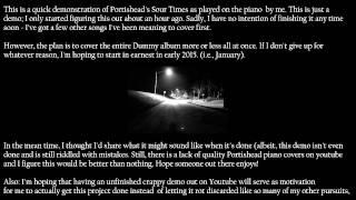 Portishead - Sour Times (Piano Demo)