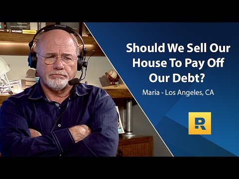 Should We Sell Our House To Pay Off Our Debt?