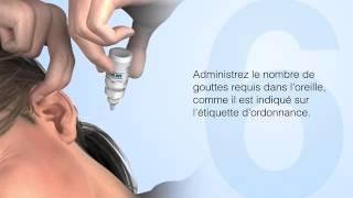 Comment utiliser des gouttes auriculaires correctement