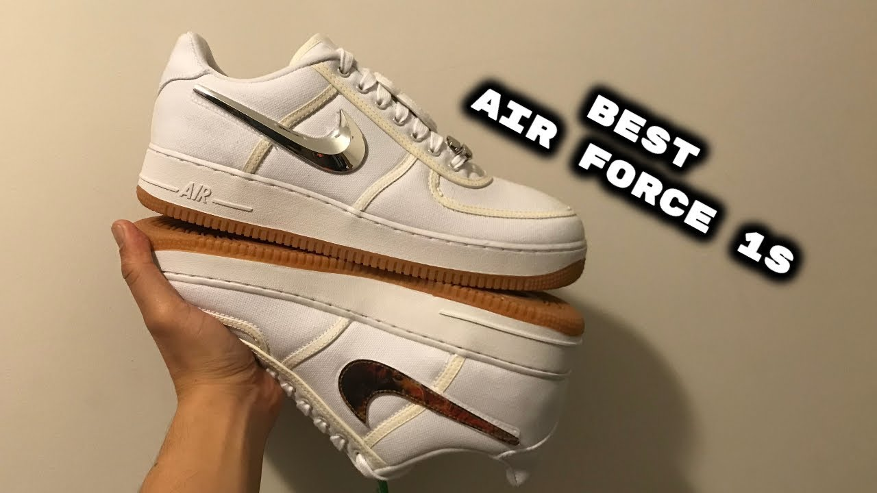 Nike Air Force 1 air force 1 x Travis Scott with 3M Best