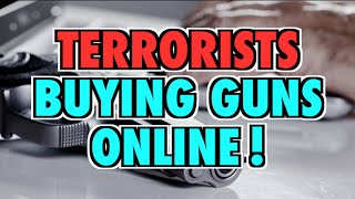 Obama Says Terrorists Buying Guns Online!
