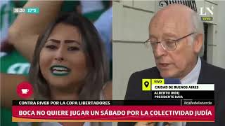 Final Copa Libertadores: La DAIA recomendaría cambiar la fecha del partido - Café de la Tarde