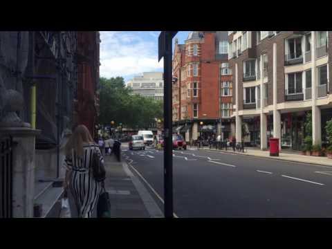 Sloane Square Walk - Chelsea, London July 2016
