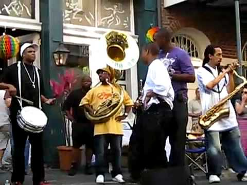 Rebirth Live in the French Quarter