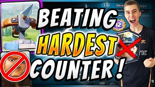 HOW TO DESTROY GIANT MINER w/ 2.9 XBOW! Top 100 Ladder — Clash Royale