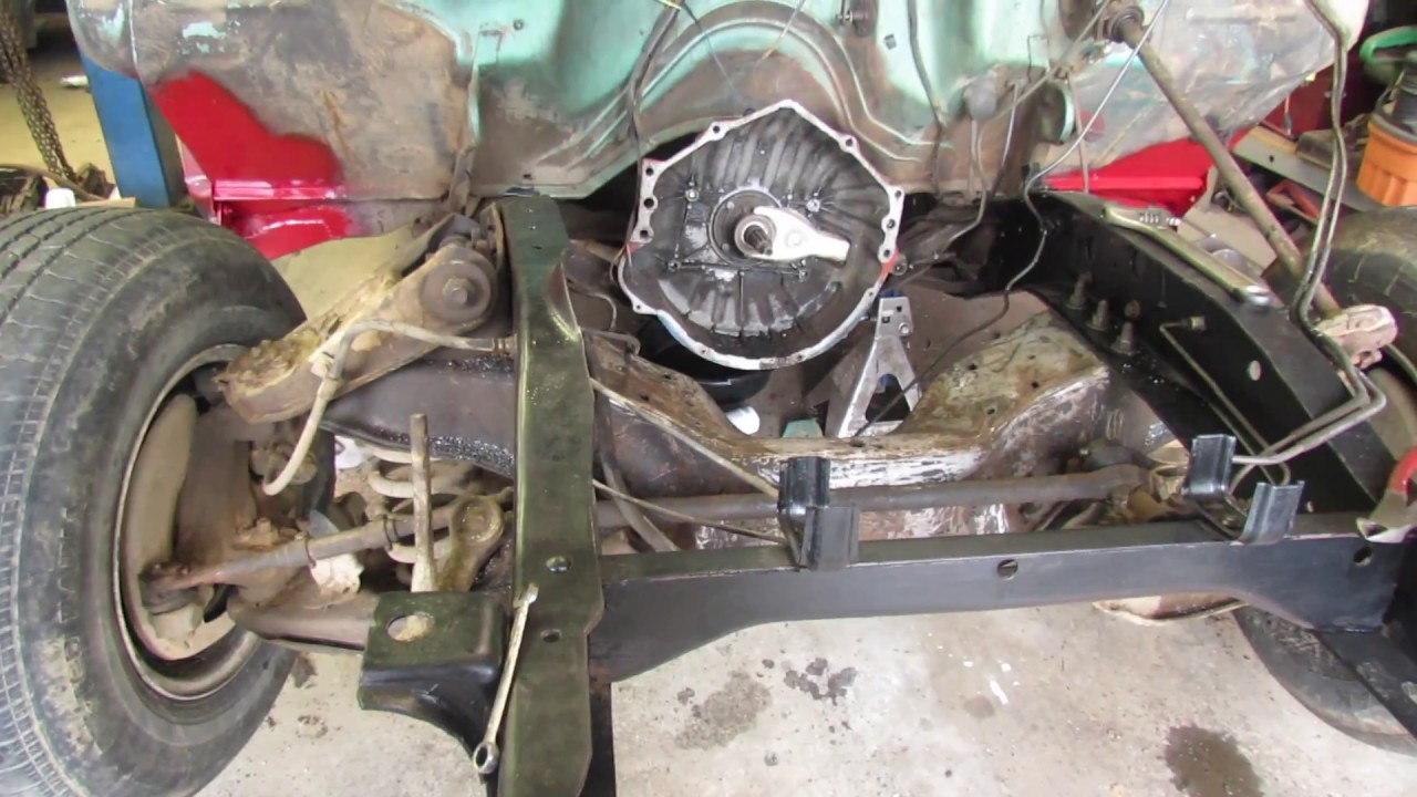 Chevy truck crossmember swap