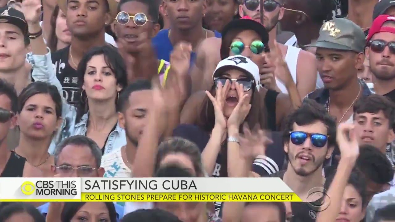 Resultado de imagen de Rock Concerts in Cuba